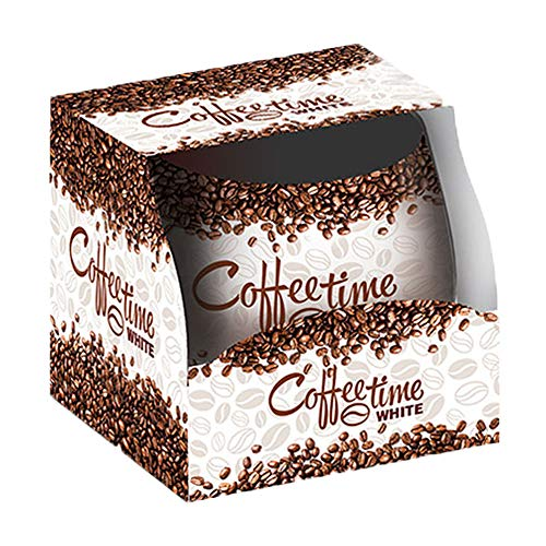 Duftkerze im Giara Duft Weißer Kaffee, 1 Kerze