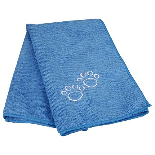 TRIXIE Toalla extra secado, 50 × 60 cm, Azul, Perro