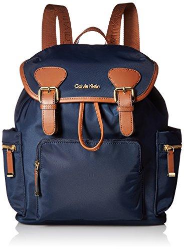 Calvin Klein Belfast Rucksack mit Nylon-Schnalle, Blau (navy), Einheitsgröße