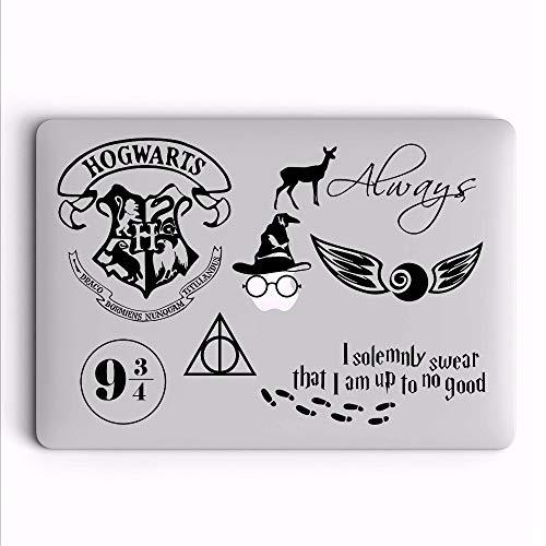 Wandtattoo Kinderzimmer Harry Potter Thema Laptop Aufkleber für MacBook Aufkleber LKW Auto Laptop Aufkleber
