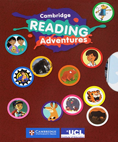 Cambridge Reading Adventures Blue and Green Bands Adventure Pack 3 with Parents Guide