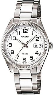 29398dcf143 Relógio Casio - LtP-1302D-7bvdf - Steel Steel - White Dial - Women s
