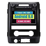 Android System 8 Zoll Autoradio GPS für Ford F150 F-150 SVT Raptor 2009 2010 2011 2012 2013 2014 2015 mit Navigation Radio Stereo DVD Bluetooth SD USB Touch Bildschirm