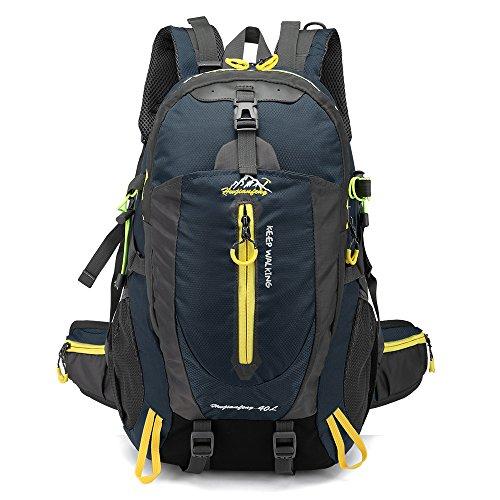 NANANANA 40L impermeable escalada táctica mochila de viaje senderismo portátil mochila trekking mochila al aire libre hombres mujeres bolsa de deporte
