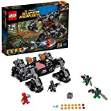 dc comics Lego Super Heroes 76086- Giocattolo Justice League Attacco nel Tunnel del Knightcrawler