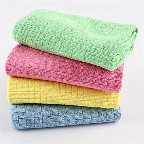 Huaicheng 4 toallas de cocina ecológicas para lavar platos lavables para uso doméstico