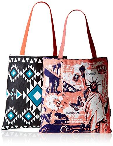 Kanvas Katha Women's Tote Bag (Multi-Colour)(KKBSAMZAUG003-KKBSAMZAUG009)