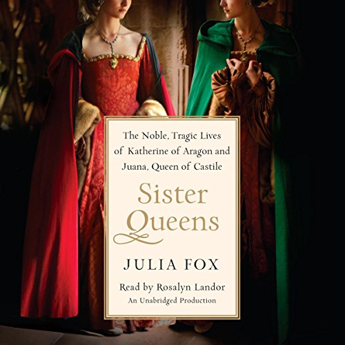 Sister Queens audiobook cover art