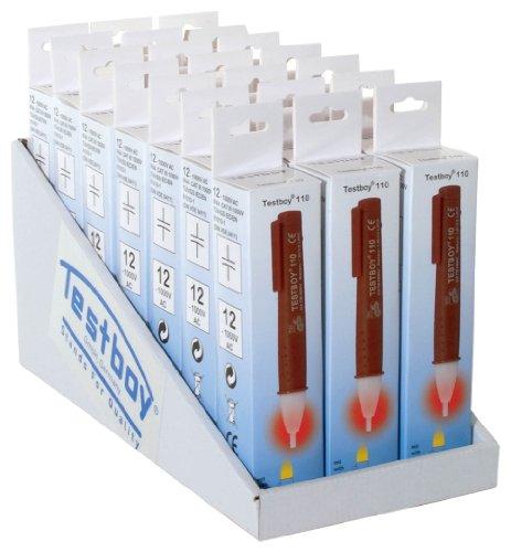 Testboy 7774118 110 Aufsteller-Set Spannungstester 21 Stück
