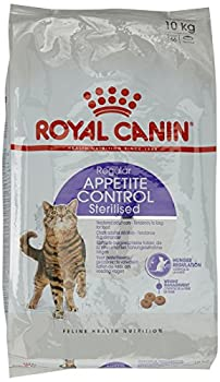 ROYAL CANIN Sterilised Appetite Control Nourriture pour Chat 10 kg