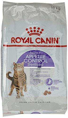 ROYAL CANIN Katzenfutter Sterilised Appetite Control 10 kg, 1er Pack (1 x 10 kg)