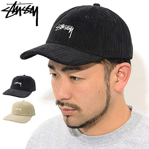 [ステューシー]キャップ帽子CordLowProCapフリーブラック[並行輸入品]