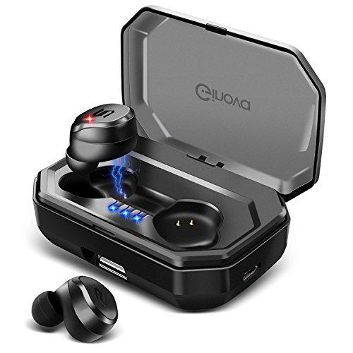 【進化版 Bluetooth 5.0 IPX7完全防水】 Bluetooth イヤホン 高音質 両耳 自動ペアリング 自動ON/OFF 90時...