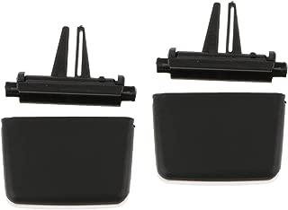 2 Pezzi Auto A//C Air Conditioning Vent Uscita Clip Tab Per BMW Serie 3 E90 E92