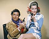 Erthstore Cliff Robertson and Dina Merrill in Batman Western Clothes 24x30 Poster