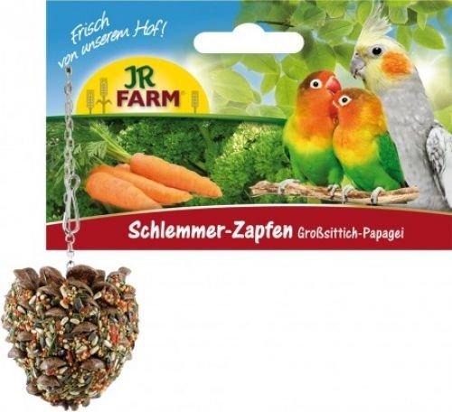 JR-Farm Bird Schlemmer-Zapfen Großsittich + Papagei Größe 4 Stück