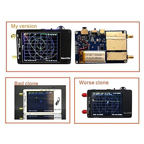 Ganmaov Vector Network Analyzer Meter Tester Mit Antennen-TFT-Bildschirm Für NanoVNA advantage