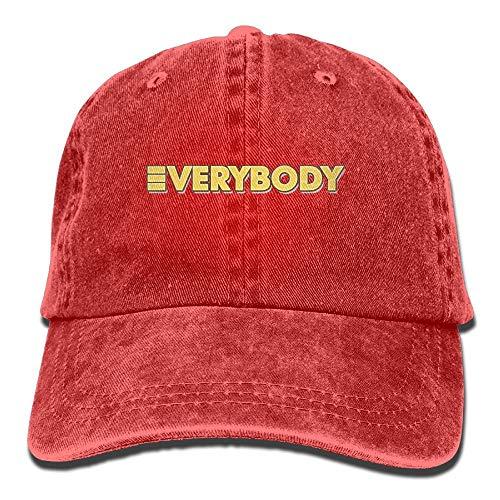 ZQHRS Todo el Mundo Sombreros para Adultos Unisex Moda Llanura Cool Ajustable Vaqueros Vaqueros Gorra de béisbol Vaquero