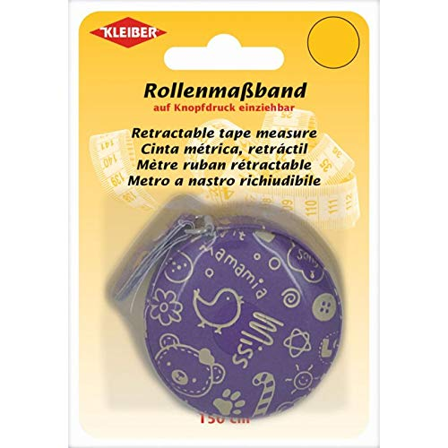 Kleiber + Co.GmbH 93036 Rollmassband/lila, Kunststoff, 150 cm lang
