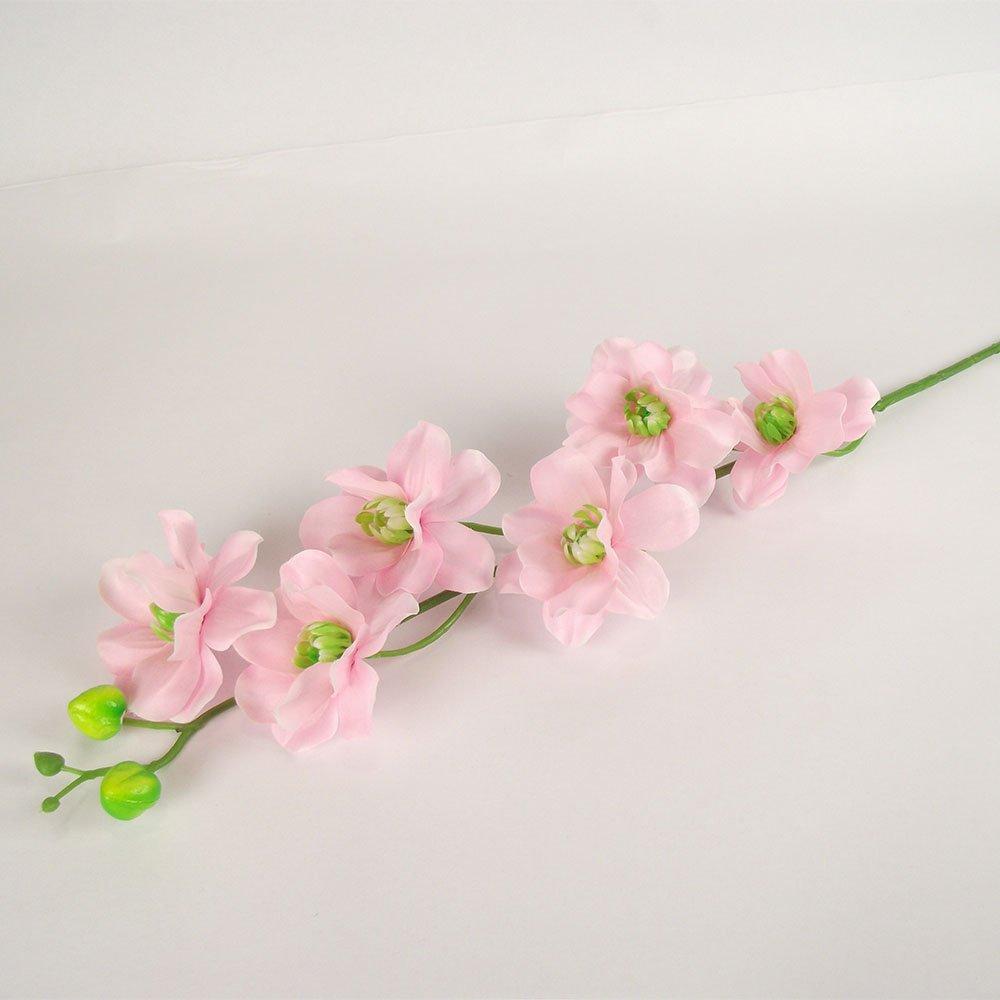 Meena Supplies Azalea Spray Stem Lilac Artificial Flowers Amazon Co Uk Kitchen Home
