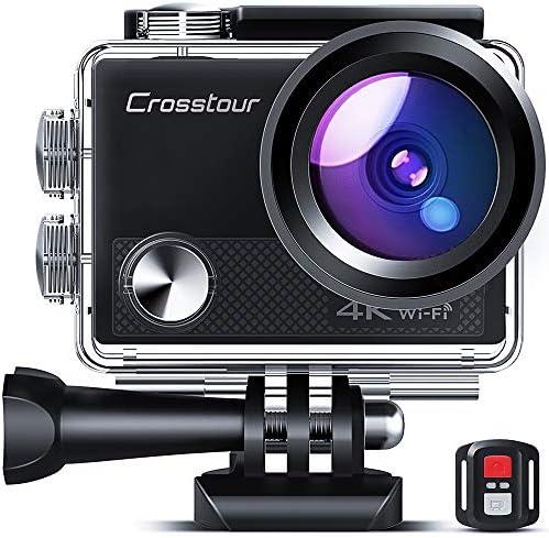 Crosstour Ultra 4K 20MP Action Camera WiFi Enhanced Anti Shake Time Lapse LDC Remote Control product image
