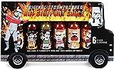 "Modern Gourmet Foods, Set de Regalo Salsas Picantes ""Stormtrooper Food Truck"", Pack de 6"