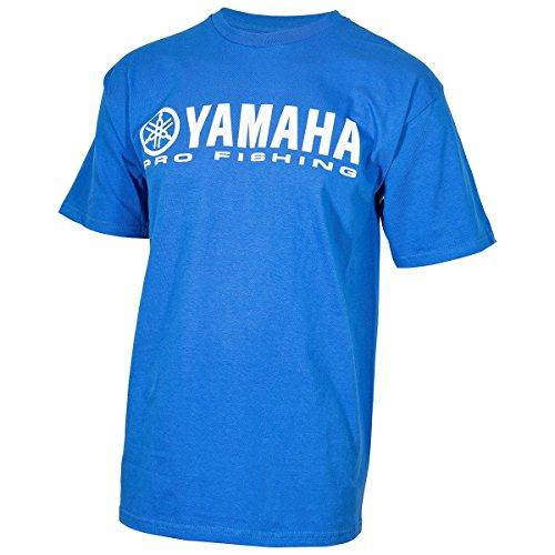 OEM Yamaha Men's Pro Fishing Blue Short Sleeve T-Shirt X-Large