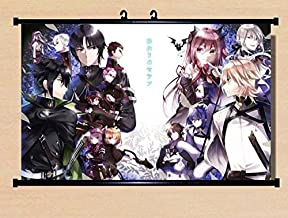 Home Decor Anime Seraph of the End/Owari no Seraph The night's micah scroll poster 23.6x15 Inches-045L