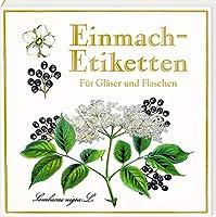Etikettenbuechlein - Einmach-Etiketten (Sammlung Augustina): fuer Glaeser und Flaschen