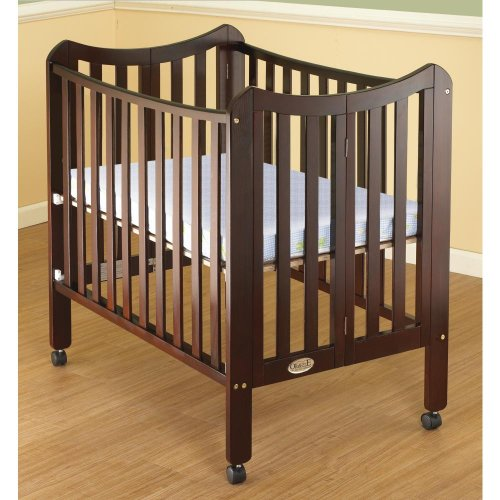 Orbelle Trading Tian Three Level Portable Crib,...
