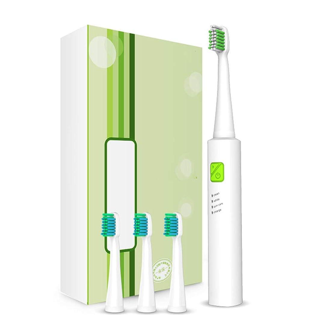 結び目ハンディ現金電動歯ブラシの充電、大人の子供のUSB充電超音波電動歯ブラシスマート歯ブラシ,D