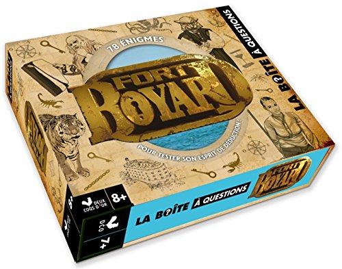 Fort Boyard - boîte avec cartes