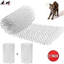 EPOARTIST Cat Puppy Scat Spike Mat 13ft Anti-Cats Network Digging Stopper Prickle Strip Digging Stopper 6.5 feet x 2 Prickle Strip Pest Repellent Indoor Outdoor Home