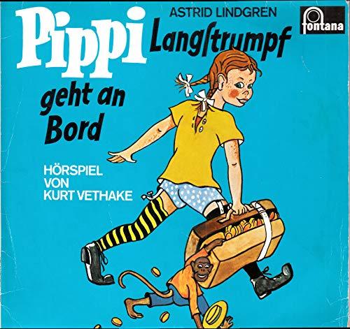 Lindgren, Astrid / Pippi Langstrumpf geht an Bord / Hörspiel von Kurt Vethake / Bildhülle / Philips 843967 QY / Deutsche Pressung / 12 Zoll Vinyl Langspiel-Schallplatte /