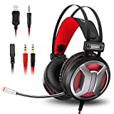 Gaming Headset for Xbox One PS4 PC,ELEGIANT Gaming Headphones 4D Surround Stereo Sound
