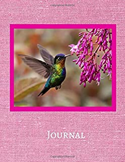 Journal: Notebook For Humming Bird Lovers | Humming Bird Journal Gift Idea For Bird Watchers, Outdoor and Nature Enthusias...