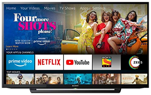 Sony Bravia 101.6 cm (40 inches) Full HD LED TV KLV-40R352F (Black)   With Amazon Fire Stick at Zero Cost