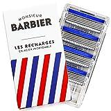 Monsieur Barbier - Lote de 4 recambios para cuchillas Challenger