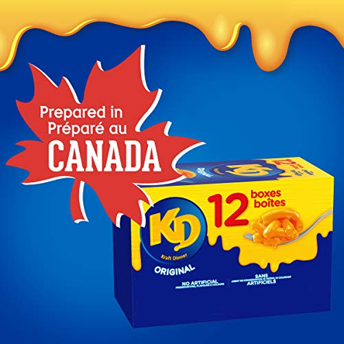 Dîner Kraft Dinner Macaroni Fromage Original 225g, Paquet de 12 - 2