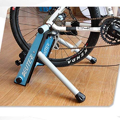 Drohneks - Soporte magnético para bicicleta, soporte de bicicleta estable con bloqueo de rueda de liberación rápida, para bicicletas de carretera y montaña, color azul
