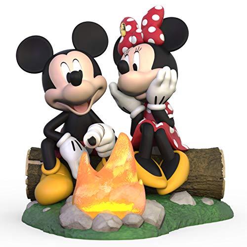 Hallmark Keepsake Christmas 2019 Year Dated Disney Minnie Fireside Friends Ornament, Mickey Camping