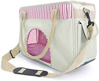 ZzheHou Pet Carrier Backpack Pet Dog Bag Easy To Carry Out Carrying Bag Suitable For Small And Medium Cats And Dogs Suitab...