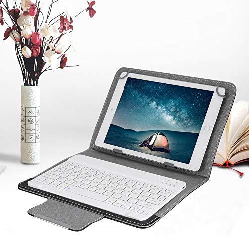 tastiera tablet 10.1 ASHATA Tastiera Bluetooth con Cover Protettiva