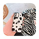 Coque de protection transparente pour iPhone 12 Mini 12 11 Pro Max 7 8 Plus SE 2020 12 11 Motif...