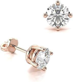 503f1258ce0db Amazon.co.uk: Rose Gold - Earrings / Women: Jewellery