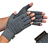 Medipaq Anti-Arthritis Gloves (Pair) - Providing Warmth and Compression to Help Increase Circulation Reducing Pain and Promoting Healing by Medipaq