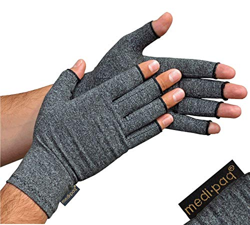 Medipaq(r) Anti-Arthritis Gloves (Pair) - Providing Warmth and Compression...