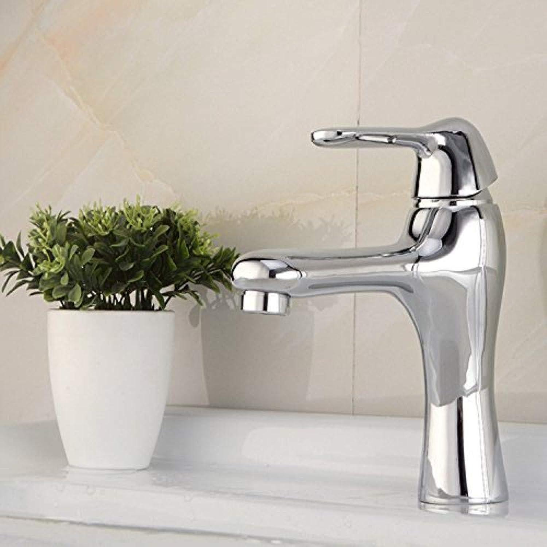 Water Tap Basin Copper Single Joint Modern Taps Kitchen Brass Faucet Bathroom Sink Waterfall Tap Mixer Water Washroom Bath Tub Shower