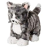 Ikea 002.604.51 LILLEPLUTT Stofftier Katze in grau