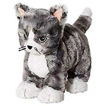 Ikea 002.604.51 LILLEPLUTT Stofftier Katze in grau Soft Toy Cat in Grey